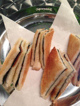 エースののりトースト